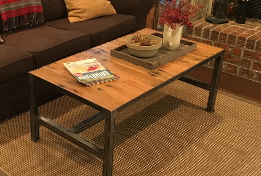 portfolio - pallet - coffee table 2