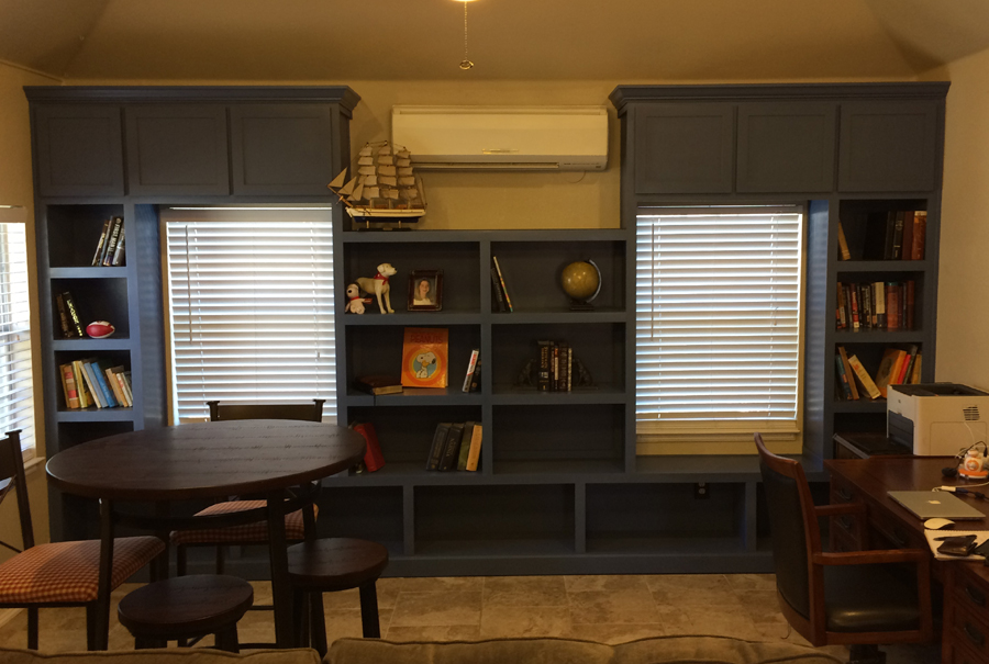 gallery - built-in bookshleving - bill hurlburt 1