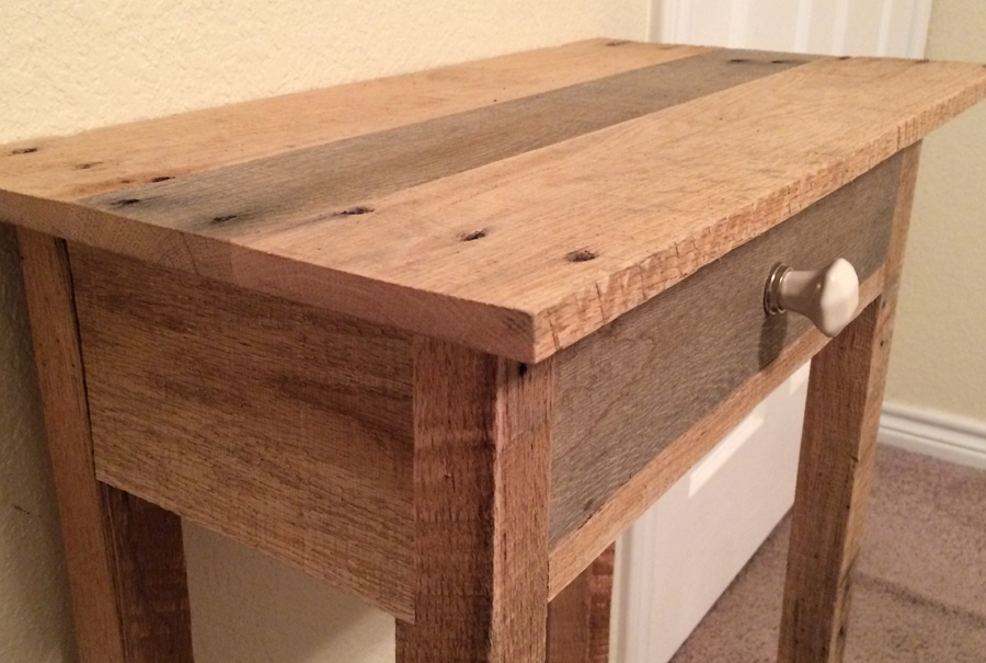 gallery - pallet side table - hannah baxter 3