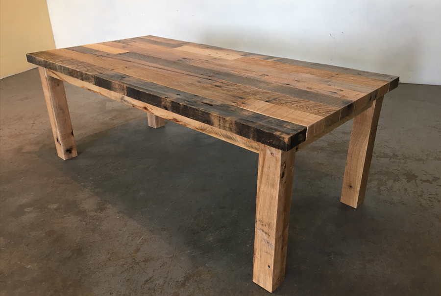 All Wood Coffee Tables ~ Pallet coffee table all wood large cole baxter creations