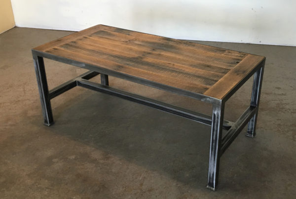 iron base - coffee table (breadboard) 1