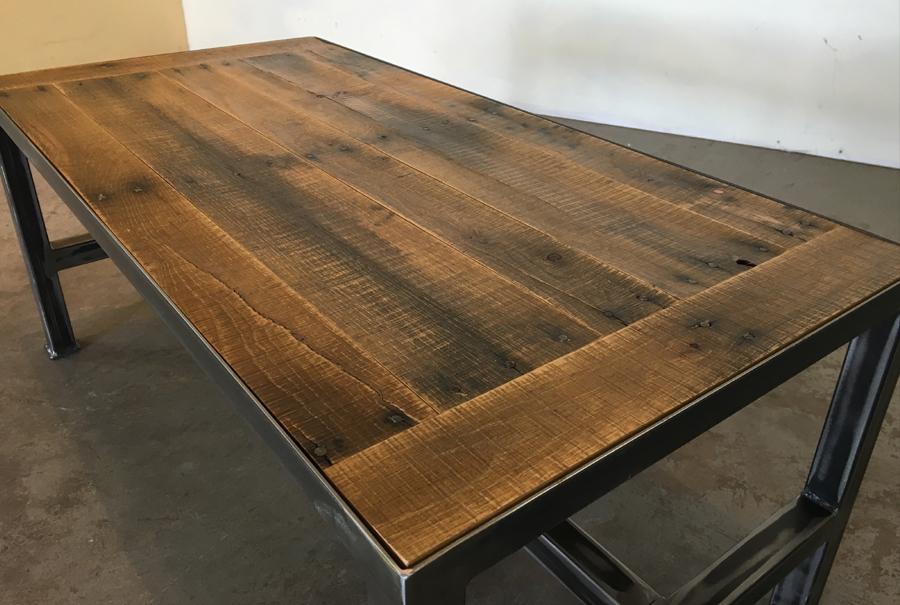 iron base - coffee table (breadboard) 2