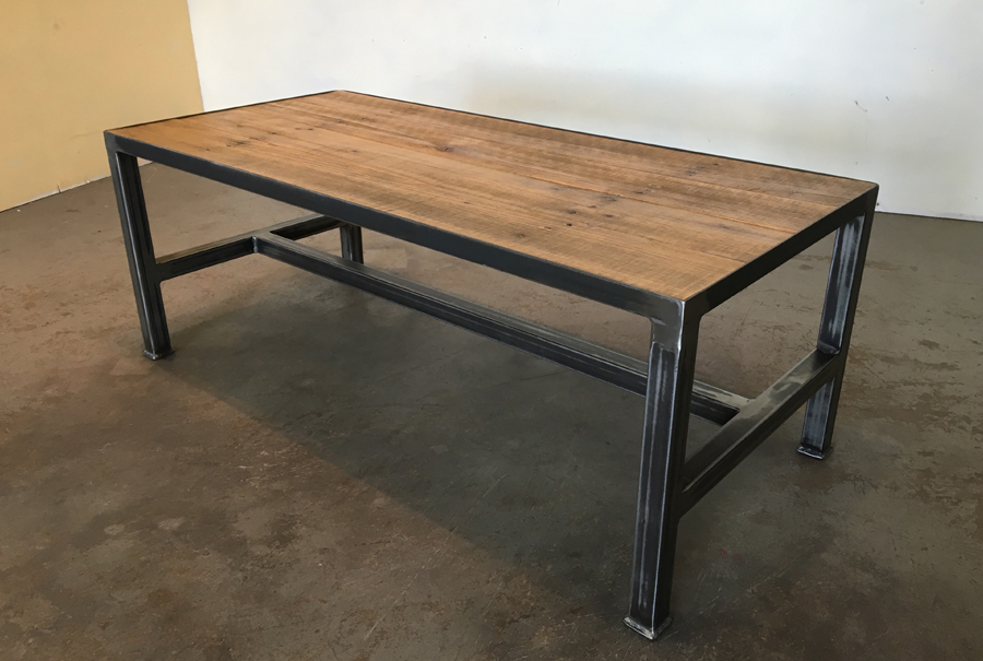 iron base - coffee table (length) 1