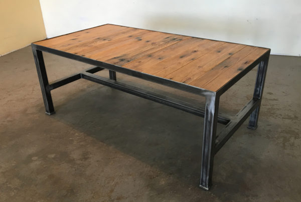 iron base - coffee table (width) 1