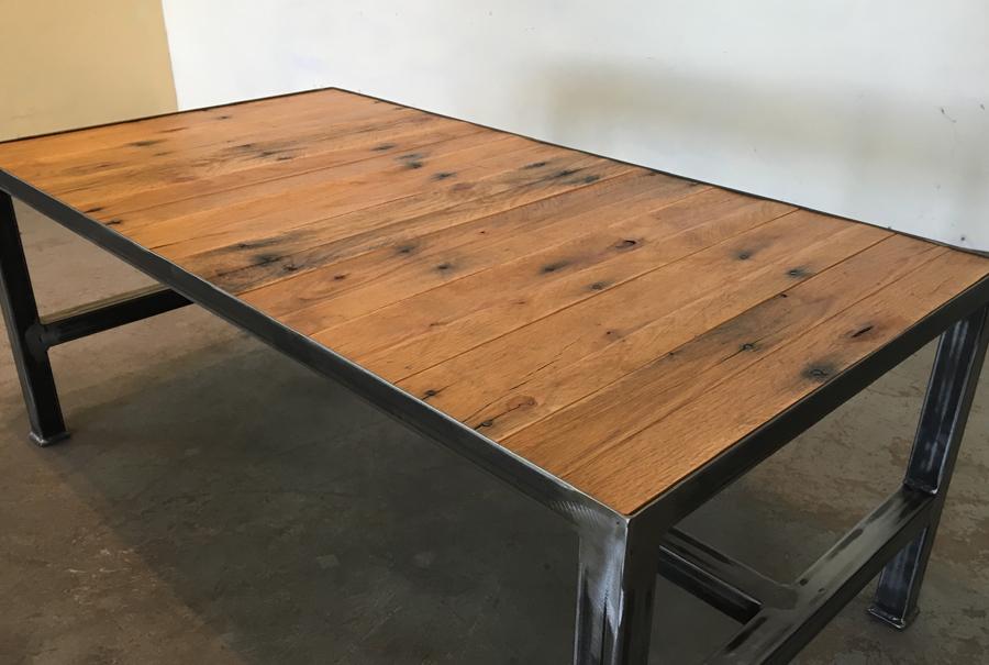 iron base - coffee table (width) 2