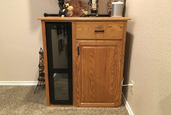 oscar trevino - wine cabinet 1