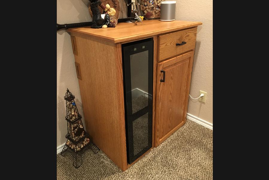 oscar trevino - wine cabinet 2