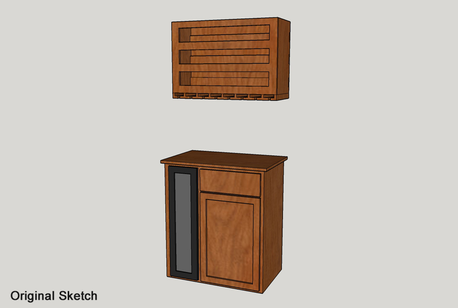 oscar trevino - wine cabinet 3