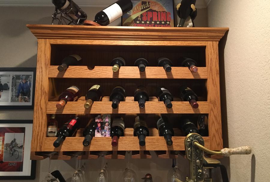 oscar trevino - wine rack 2
