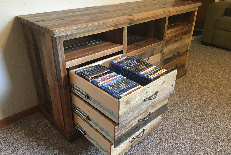 gallery - pallet entertainment center 4