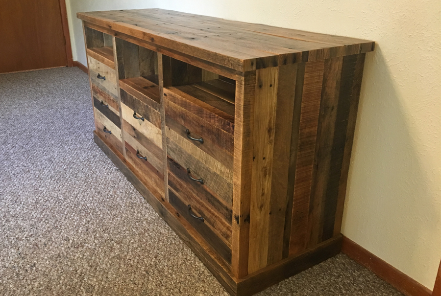 gallery - pallet entertainment center 5