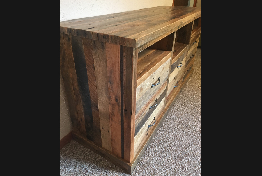 gallery - pallet entertainment center 7